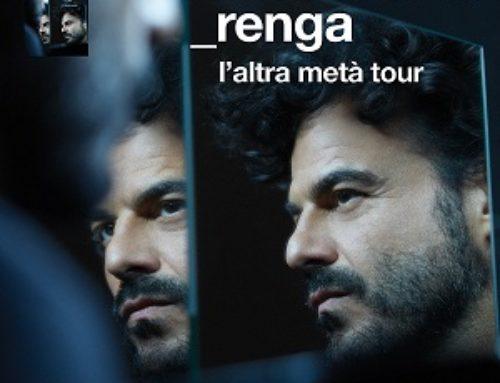 "FRANCESCO RENGA torna live con ""L'altra metà Tour"""