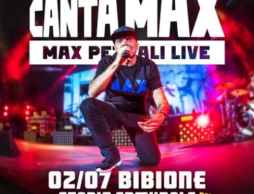 MAX PEZZALI – annuciato un nuovo live: Stadio Comunale di Bibione il 2 luglio